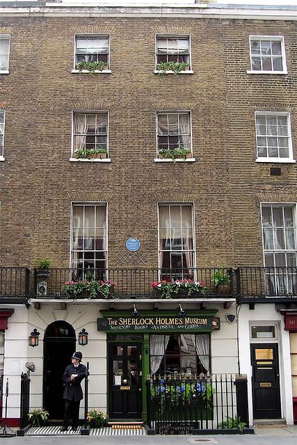 Музей Шерлока ХолмсаSherlock Holmes Museum