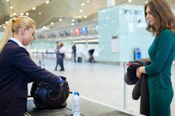 Что разрешается взять в ручную кладь, садясь в самолет.