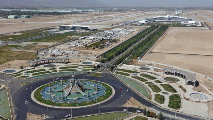ашхабатское чудо,ашхабатский аэропорт, аэропорт занесен в книгу рекордов гинесса