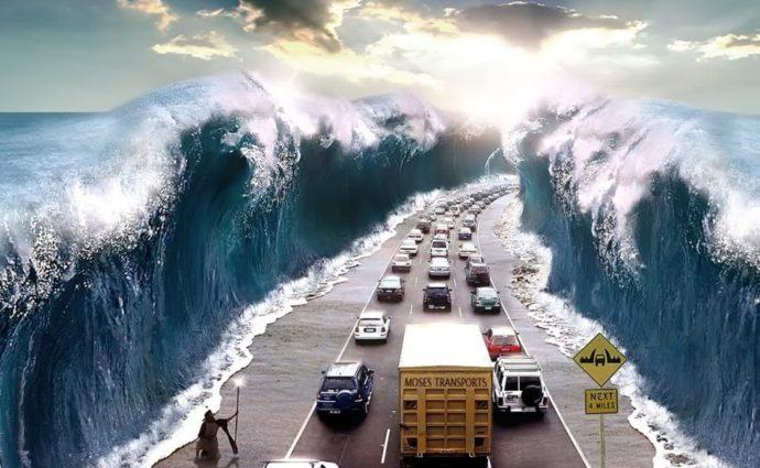 моисеево чудо острова чиндо