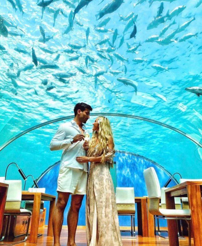 Подводный ресторан на Мальдивах «Per Aquum»
