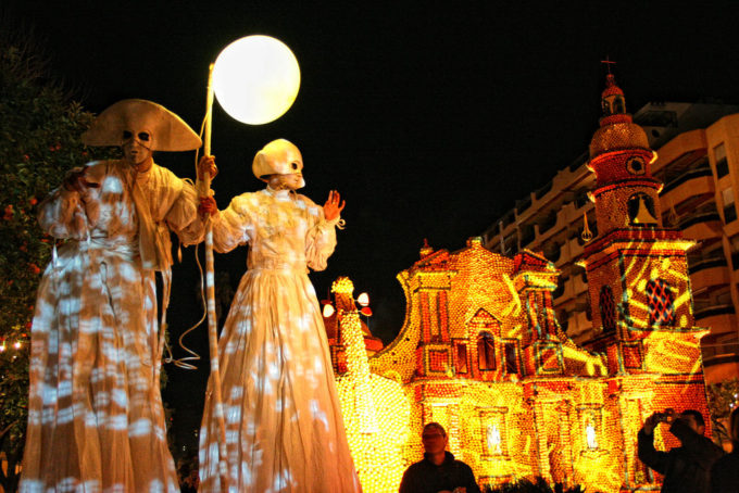 Фестиваль лимонов в Ментоне, фестиваль лимонов в ментоне фото,Франция