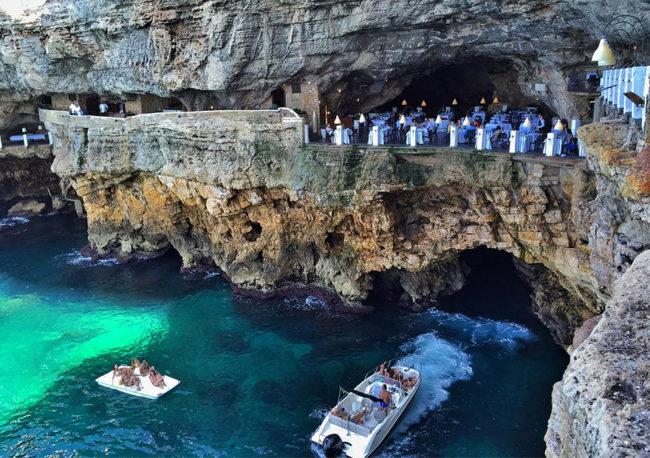Итальянский ресторан в пещере, итальянский ресторан, ресторан в гроте, итальянский ресторан в гроте, куда поехать на выходные в Италии, куда слетать на выходные в Италию, куда поехать на выходные в европу