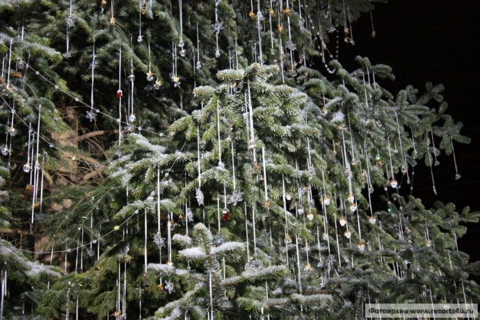 рождественская елка в Цюрихе, рождественская елка сваровски, куда поехать на выходные, елка Swarovski