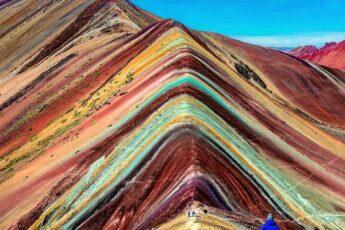 Радужные горы в Перу