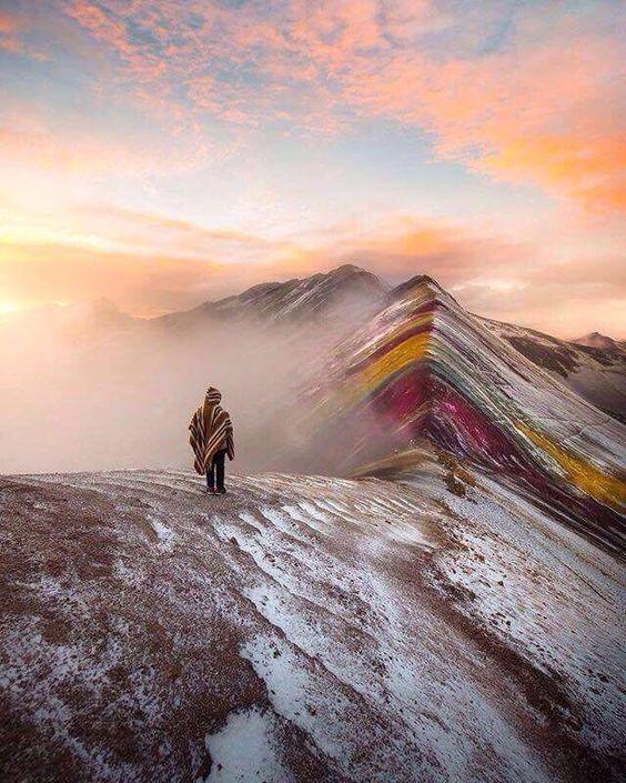 Радужные горы в Перу,Радужные горы в Перу, куда поехать на выходные, гора Виникунка, Анды в Перу