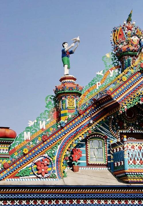 куда поехать на выходные в России,,Необыкновенный дом кузнеца Кириллова внутри