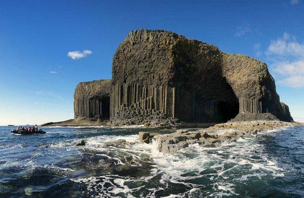 куда поехать на выходные в Европу, куда слетать на выходные в Европу, куда поехать на выходные в Шотландии, остров Стаффу, Фингалова пещера в Шотландии, самая красивая пещера в мире, самая красивая пещера,самые интересные места Европы