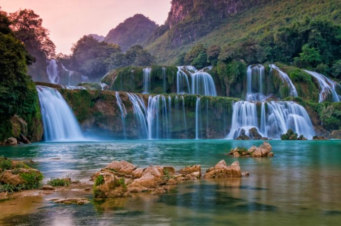водопад Дэтянь, как добраться Дэтянь, куда поехать на выходные водопад Дэтянь,