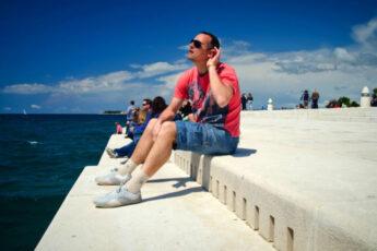 поющая набережная, поющая набережная в Хорватии, поющая набережная в Задаре, морской орган в Хорватии, морской орган, достопримечательности Хорватии, что посмотреть в Хорватии