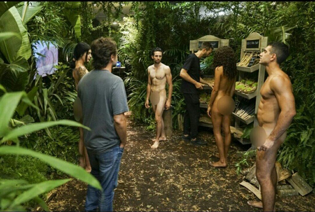 магазин с голыми продавцами