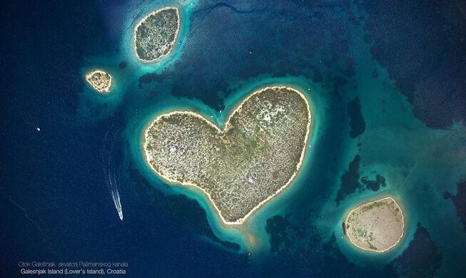 остров Галешняк, Галешняк остров, остров Галешняк координаты