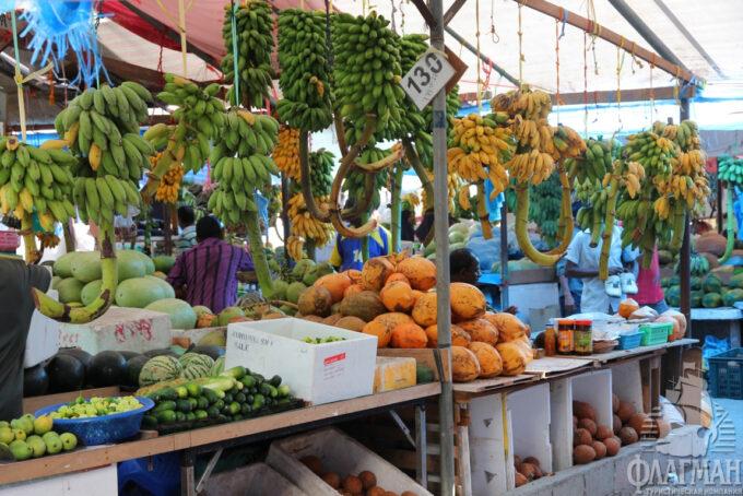 овощной рынок в Мале, рынок в Мале