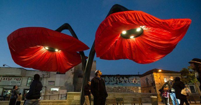 расцветающие фонари в Иерусалиме, достопримечательности Иерусалима, куда поехать на выходные