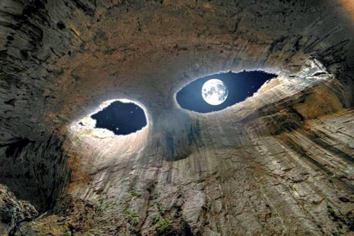 куда поехать на выходные в Болгарии, куда поехать на майские выходные в Болгарии, куда поехать на выходные в Европу, куда поехать на майские в Европу, Достопримечательности Болгарии, пещера глаза Бога