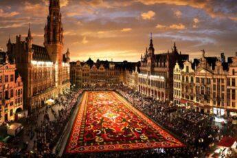 Цветочный ковер в Брюсселе, Цветочный ковер в Брюсселе Бельгия, куда поехать на выходные в Европе, куда слетать на выходные в Европу, куда поехать на выходные в Бельгии, когда цветочный ковер в Брюсселе в 2018 году